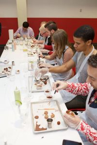 event planner toronto with chocolate