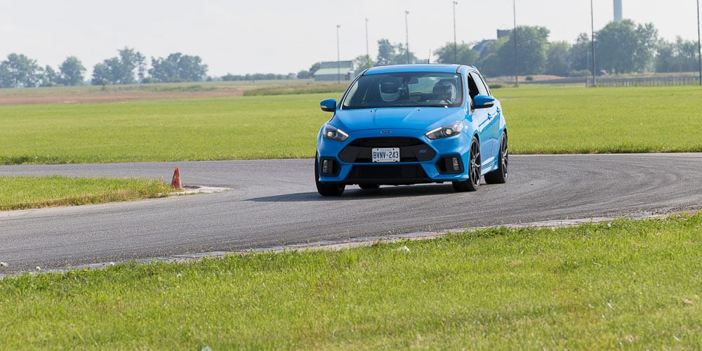 ford focus rs on track for fathers day fun
