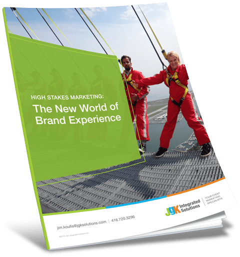 High Stakes Marketing: The New World of Brand Experience